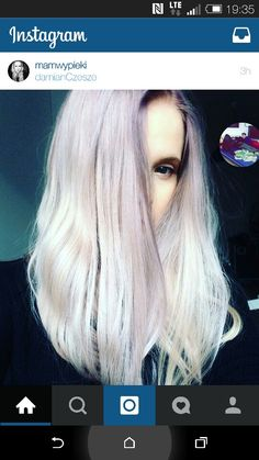Loving this hair colour!