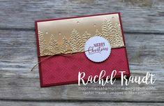 Christmas Tree Cards, Stampin Up Christmas, Xmas Cards, Holiday Cards, Embossed Christmas Cards, Christmas 2019, Scrapbooking, Embossed Cards, Stamping Up Cards