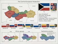 Central European Federation More what if maps >> - Maps on the Web