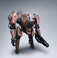 Exosuit/Mech Picture  (2d, sci-fi, mech, robot)