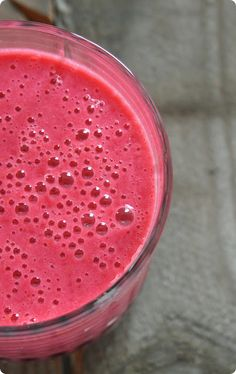 Himbeer-Orangen-Smoothie | The Vegetarian Diaries