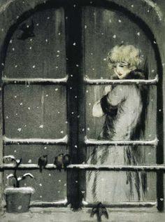 Louis Icart - Winter