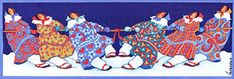 Tug O War Ѽ Print by Barbara Lavallee