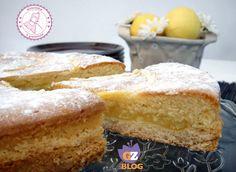 la torta limone farcita è una torta freschissima e delicata. un dessert davvero profumato