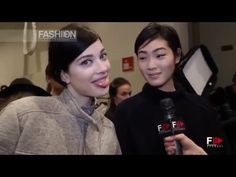 ICEBERG Backstage & Interview Autumn Winter 2014 2015 HD Milan by Fashion Channel http://www.youtube.com/watch?v=vJH-mVSWB-k #FashionChannel