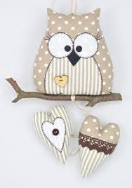 Imagen relacionada Owl Sewing, Sewing Toys, Sewing For Kids, Sewing Crafts, Sewing Projects, Craft Projects, Projects To Try, Owl Crafts, Diy And Crafts