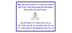 Printable Novena to St. Jude - Activities For Kids