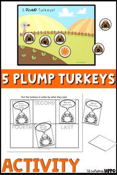 Turkey Poem Activities for Kindergarten