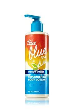 Mango Butter Replenishing Body Lotion - True Blue® Spa - Bath & Body Works