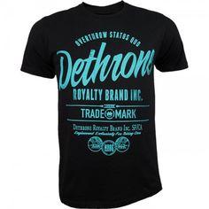 Dethrone Brand Inc Tee Black