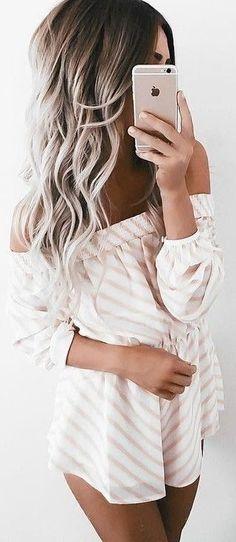 Brunette to cool blonde balayage