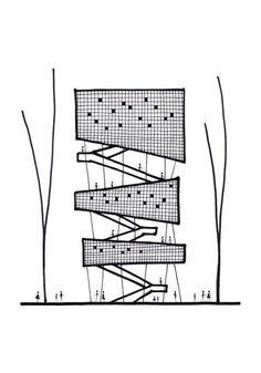 New Ideas Landscape Architecture Concept Diagram Ideas Plan Concept Architecture, Architecture Panel, Architecture Graphics, Architecture Drawings, Architecture Design, Gothic Architecture, Building Architecture, Portfolio D'architecture, Portfolio Examples