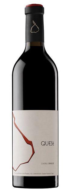 QUEST 2012 es un Vino Tinto elaborado en la DO Costers del Segre, por Castell…