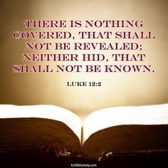 Bible Verses Kjv, Luke 12, King James, Cover, Quotes, Quotations, Quote, Shut Up Quotes