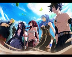 Fairy Tail Collab. by llSwaggerll on DeviantArt