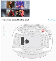 tickets: 2 Tickets Etickets Metallica Soldier Field (Il) 6/18 – Section 316 BUY IT NOW ONLY: $450.0