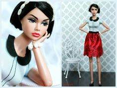 https://flic.kr/p/ESYFD6   (Fashionista) Girl from Integrity   Girl from Integrity Poppy Parker in a new Barbie Fashionista dress and shoes.