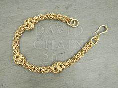Side Knot Bracelet  by Davidchain 2012