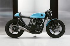 Mixing It Up: A Suzuki GS 550 cafe racer from Poland