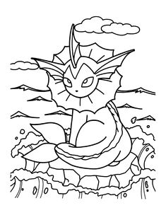 Adult Pokemon Coloring Page Pikachu COLORING PAGES Pinterest