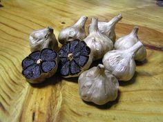 fermented black garlic  yum,yum