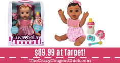***SUPER HOT*** Luvabella Dolls ONLY $89.99 (Originally $100) at Target! Target Deals, Amazon Deals, Winnie The Pooh, Disney Characters, Fictional Characters, Family Guy, Dolls, Hot, Baby Dolls