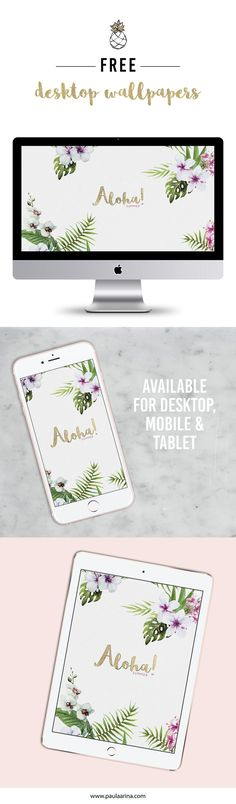 FREE Desktop Wallpaper. Available for desktop, mobile, tablet. DOWNLOAD: http://paulaarina.com/template.html