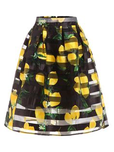 Shop Lemon Print Box Pleated Midi Skirt online. SheIn offers Lemon Print Box Pleated Midi Skirt & more to fit your fashionable needs.