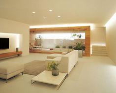 【楽天市場】オーデリック OL015194 室内用間接照明「建築化照明」 シームレスラインランプ(コンパクトタイプ)(蛍光灯29W) ランプ別売【送料無料】【smtb-F】(代引き不可)【RCP】:リコメン堂インテリア館 Cozy Living Rooms, Formal Living Rooms, Living Room Modern, Living Room Designs, Home Interior Design, Interior Architecture, Japanese House, Staircase Design, Apartment Interior