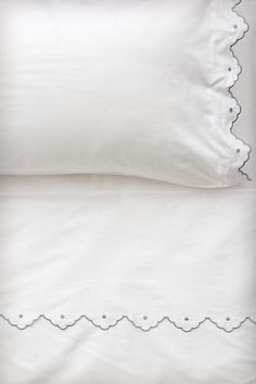 Scalloped Sheet Set #anthropologie