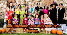 Budget DIY Halloween Costumes