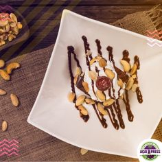 How about some dessert with brazilian nuts?  Now we're in Dubai! 😁 Hurry up and visit us on 📍 La Mer Dubai. Also register on our new website, stay tuned and get delicious promotions www.acaixpress.com.  #acai #acailovers #acaiabudhabi #acaiuae #healthyfood