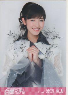 AKB48 臨時総会 白黒つけようじゃないか DVD特典生写真 渡辺麻友