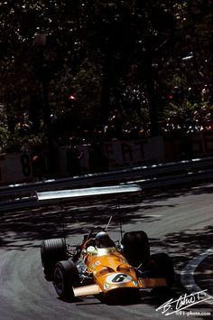 1969 GP Hiszpanii (B. McLaren) McLaren M7C - Ford