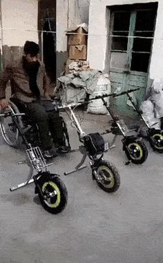 Attachment for wheelchairs.