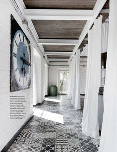 BLISS - factory to home>> silkworm factory turned home with help of designer paola navone...via elle decor uk