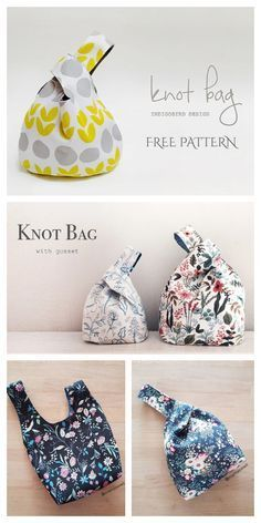 Bag Pattern Free, Bag Patterns To Sew, Sewing Patterns Free, Free Sewing, Fabric Patterns, Apron Patterns, Dress Patterns, Japanese Sewing Patterns, Easy Sewing Projects