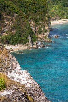 bird island cliff, saipan
