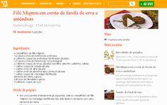 #healthyfood #healthyrecipe #cozinhanutritiva #comidadeverdade #saudavelsemneura Receita da Chef Izabela Braga no Site do Programa Você  Bonita | TV Gazeta | Dezembro de 2015.
