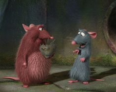 Emile and Remy (Ratatouille)