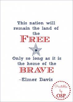 Free Patriotic Printable