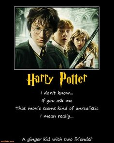 Ginger, funny harry potter pictures - dump a day. ginger, funny harry p Harry Potter Movie Quotes, Harry Potter Funny Pictures, Harry Potter Food, Harry Potter Birthday, Ginger Jokes, Dump A Day, Will Ferrell, Demotivational Posters, Swagg