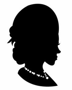 Woman with Necklace from Empress Stationery