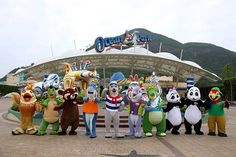 """Ocean Park Hong Kong -- The park has won several awards, including The World's Seventh Most Popular Amusement Park and one of the """"50 Most Visited Tourist Attractions"""" in the World by Forbes."""