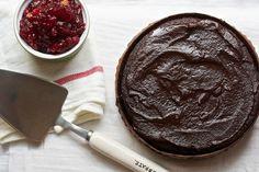 Chocolate Cranberry Cake with Chocolate Icing   Big Girls Small Kitchen