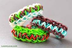 rainbow loom Bracelet | How to Make the Pizzazz Rainbow Loom Bracelet