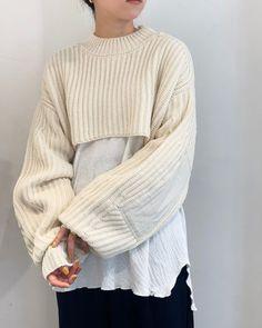 Knitwear Fashion, Knit Fashion, Womens Fashion, Fashion Trends, Conceptual Fashion, Fall Looks, Knitting Designs, Streetwear Fashion, Korean Fashion