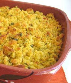 Receitas práticas de culinária: Bacalhau com broa