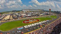 Charlotte Motor Speedway, Concord NC - Seating Chart View - We have tickets to all races at Charlotte Motor Speedway!