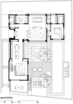 Schroder house plan dwg
